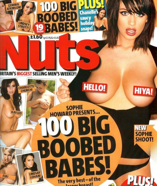 NUTS Magazine: Sophie Howard & 100 Big Boobs