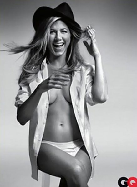 Jennifer Aniston Nude in GQ Magazine