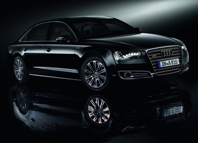 Audi A8 L Security - броневик и членовоз (фото)