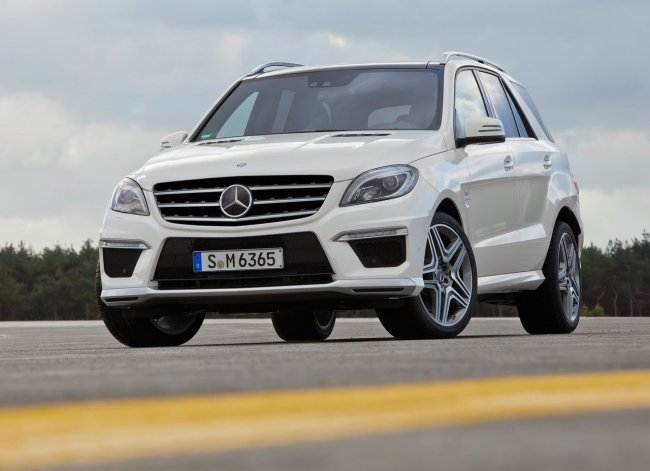 Mercedes-Benz ML63 AMG (2012) - HQ фото